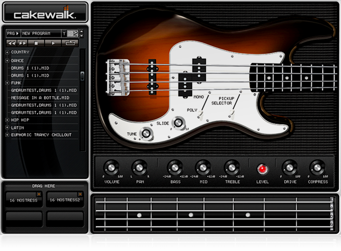 three virtual bassists one bass vst for each size wallet osiris guitar. Black Bedroom Furniture Sets. Home Design Ideas