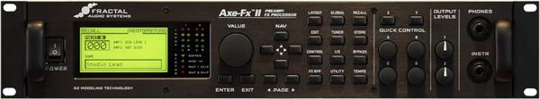 Axe FX 2 guitar amp modeller