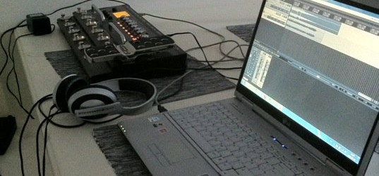 Home studio laptop