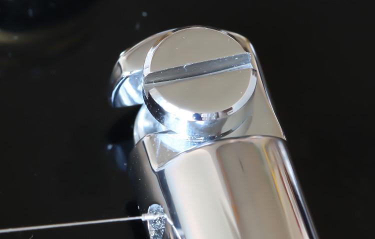 Bridge screw closeup