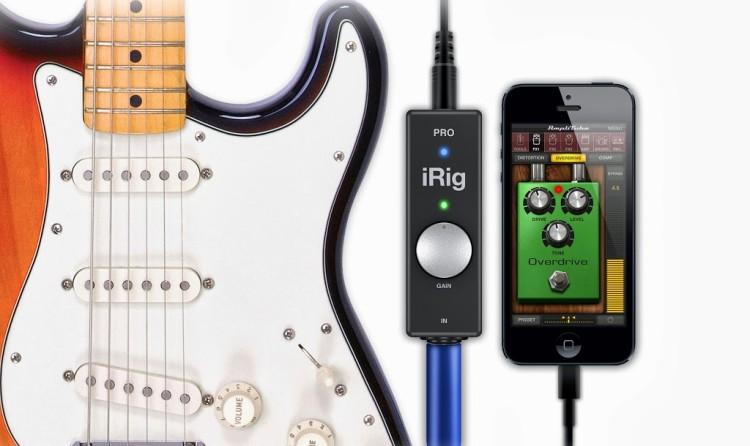 iRig PRO, guitar, iPhone