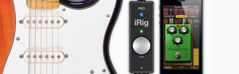 iRig PRO, guitar, iPhone