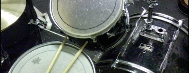Drumkit closeup